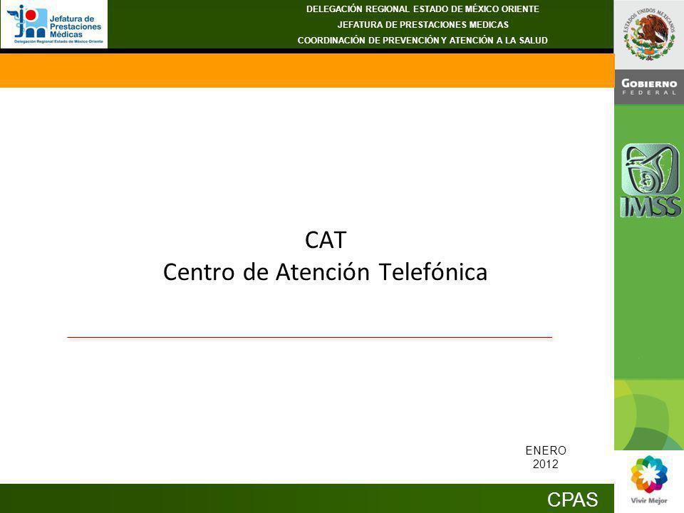 CAT Centro de Atención Telefónica
