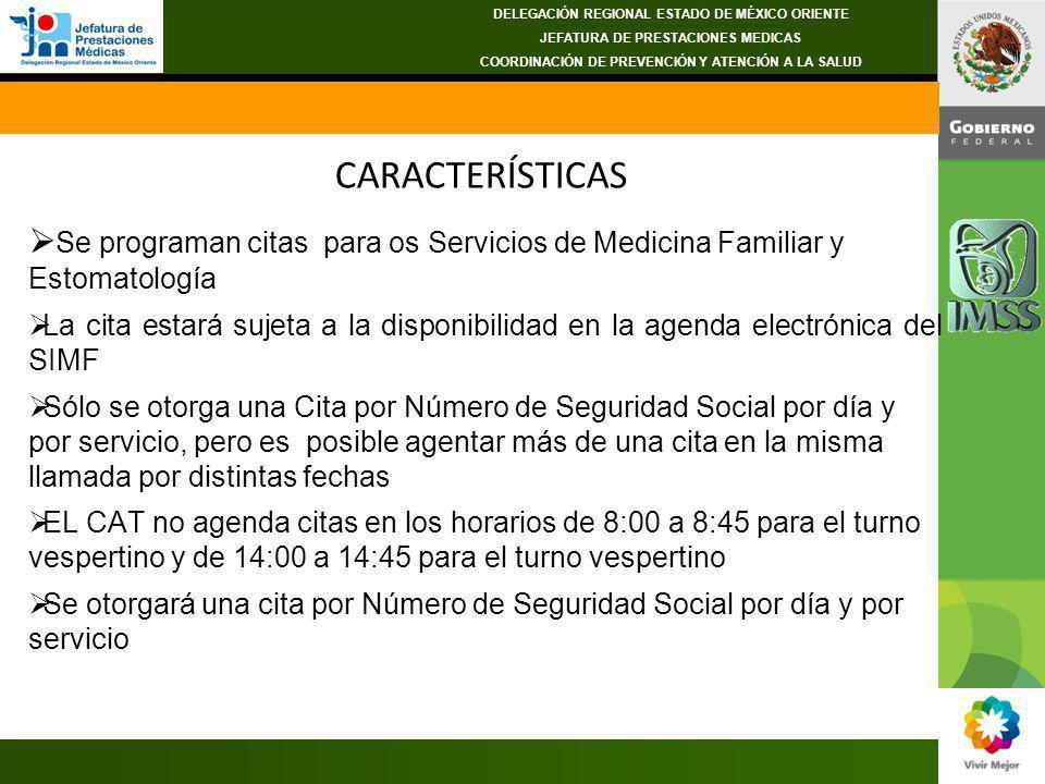 DELEGACIÓN REGIONAL ESTADO DE MÉXICO ORIENTE