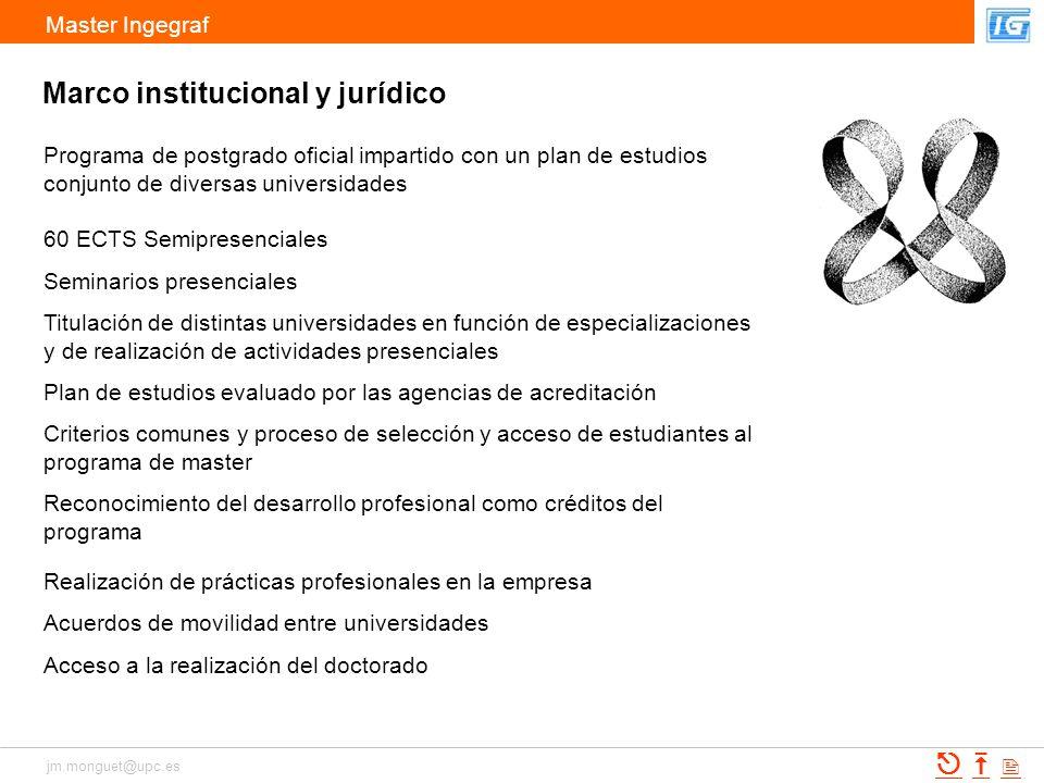 Marco institucional y jurídico