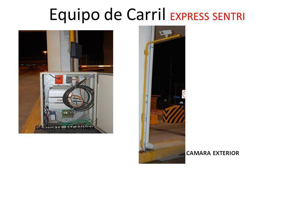 Equipo de Carril EXPRESS SENTRI