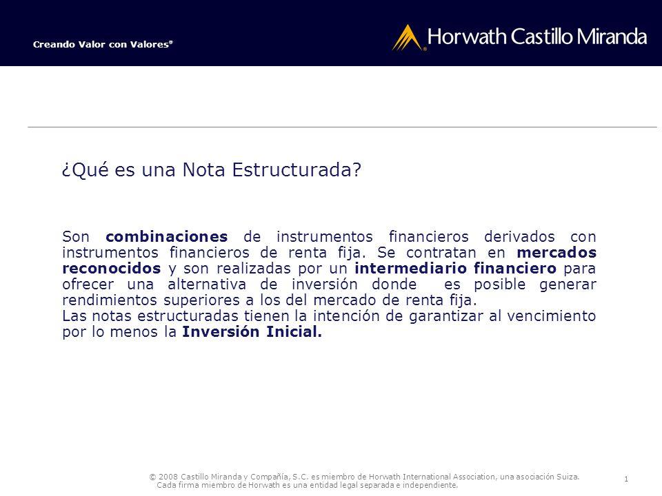 Notas Estructuradas Contexto de la Nota Estructurada Origen: