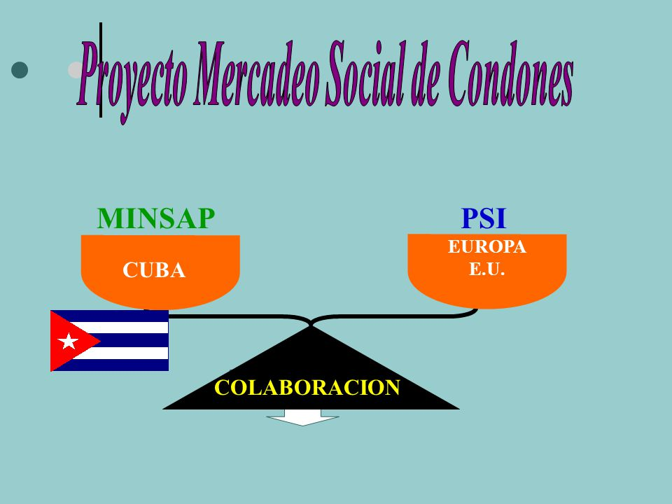 Proyecto Mercadeo Social de Condones
