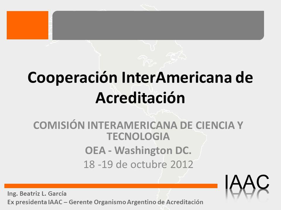 Cooperación InterAmericana de Acreditación
