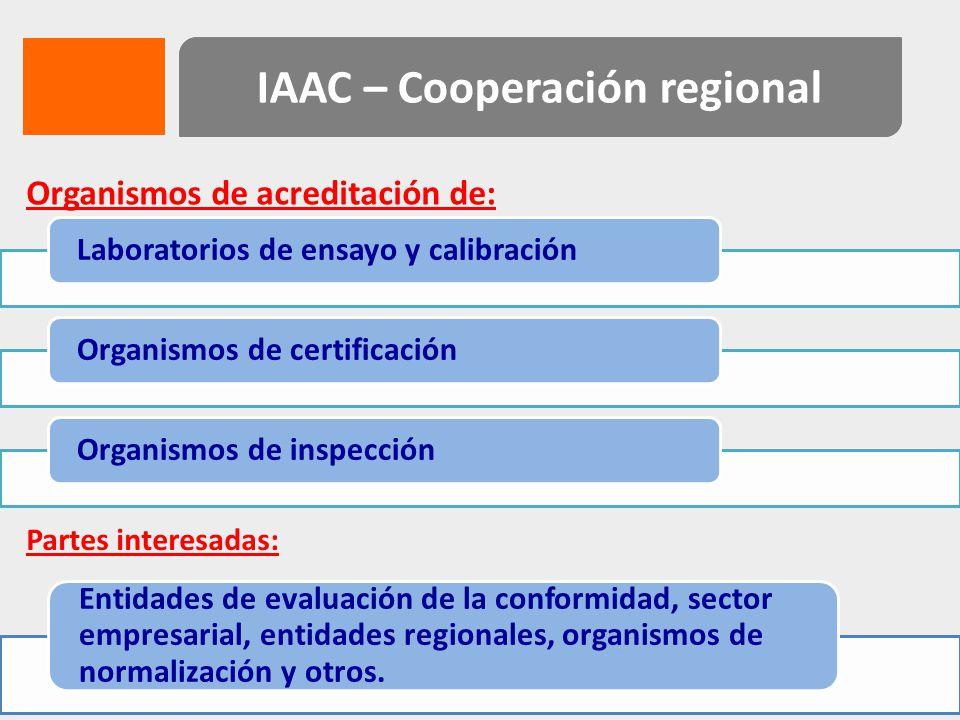 IAAC – Cooperación regional