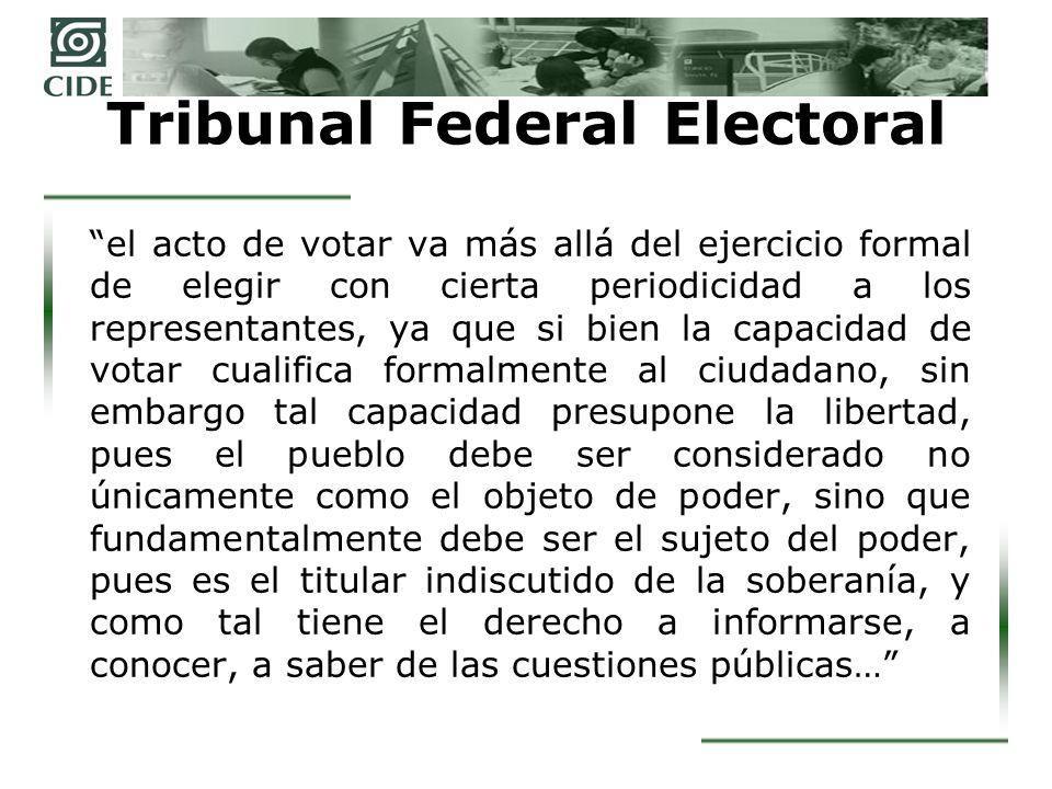 Tribunal Federal Electoral