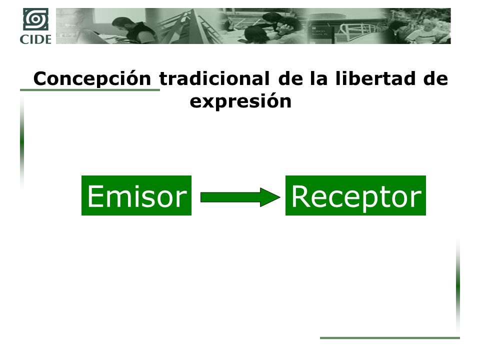 Concepción tradicional de la libertad de expresión