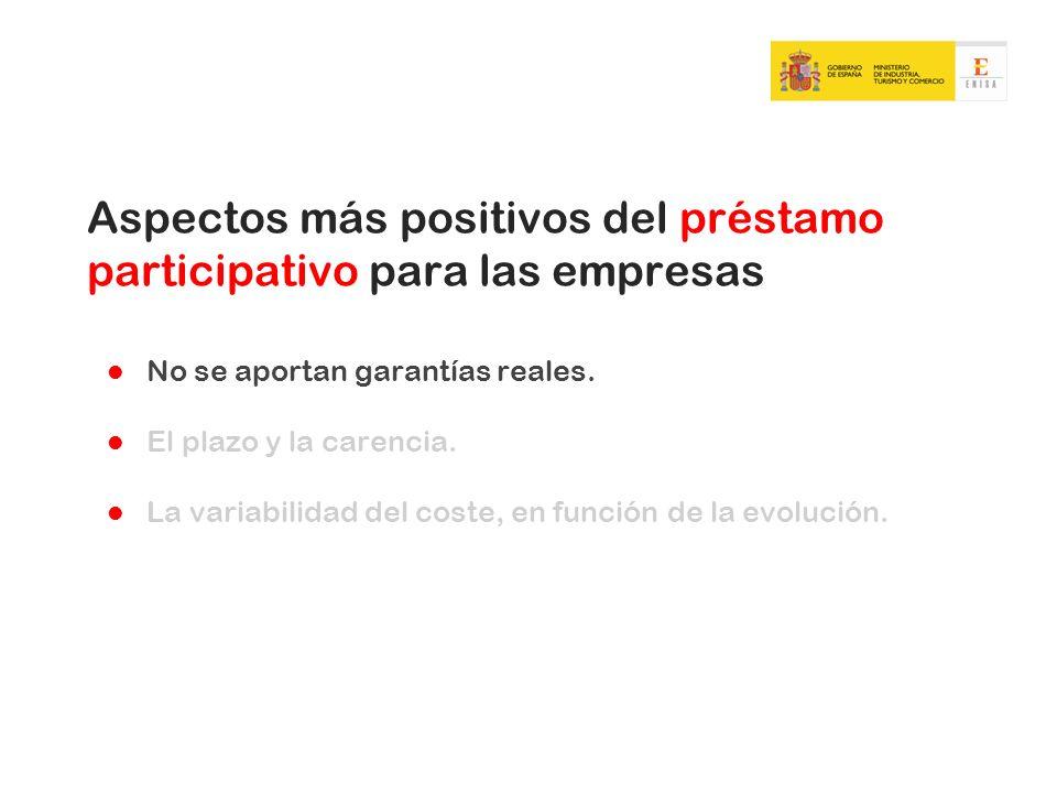Aspectos más positivos del préstamo participativo para las empresas