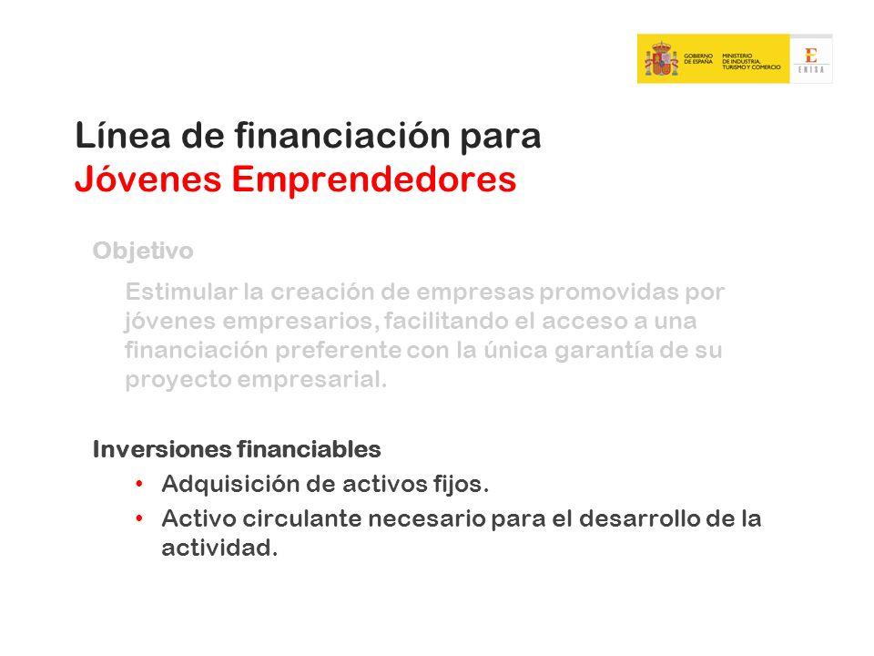 Línea de financiación para Jóvenes Emprendedores