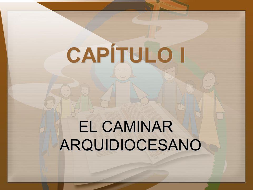 EL CAMINAR ARQUIDIOCESANO