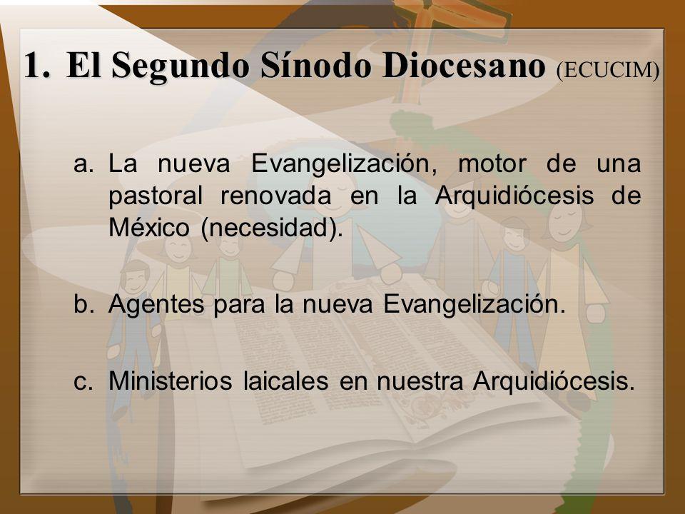 El Segundo Sínodo Diocesano (ECUCIM)