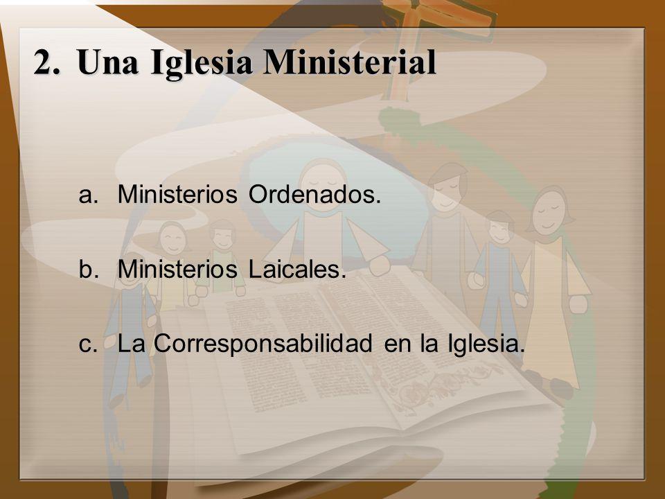 Una Iglesia Ministerial