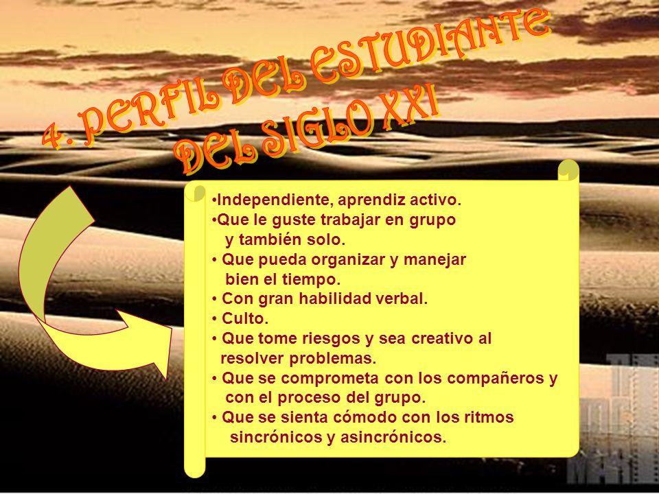 4. PERFIL DEL ESTUDIANTE DEL SIGLO XXI