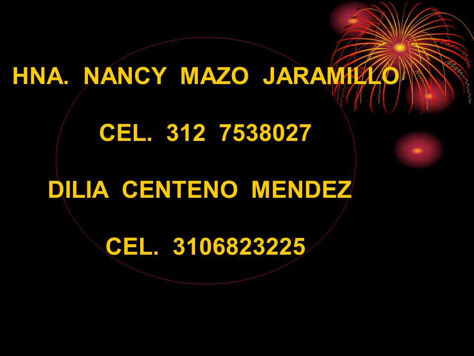 HNA. NANCY MAZO JARAMILLO