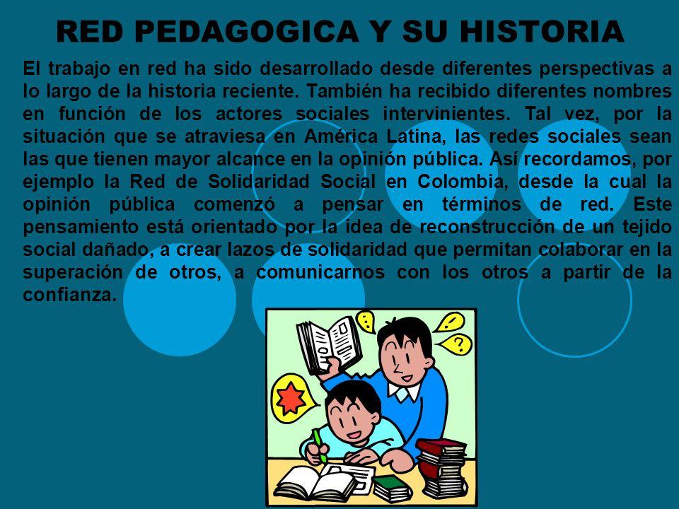 RED PEDAGOGICA Y SU HISTORIA