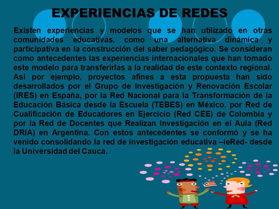 EXPERIENCIAS DE REDES