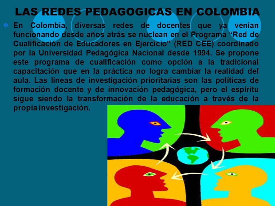 LAS REDES PEDAGOGICAS EN COLOMBIA