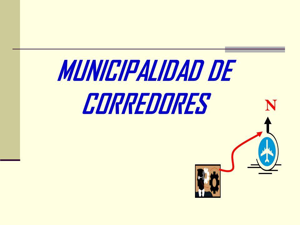 MUNICIPALIDAD DE CORREDORES