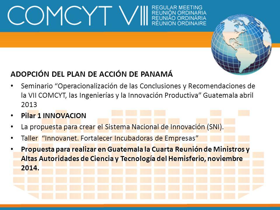 ADOPCIÓN DEL PLAN DE ACCIÓN DE PANAMÁ