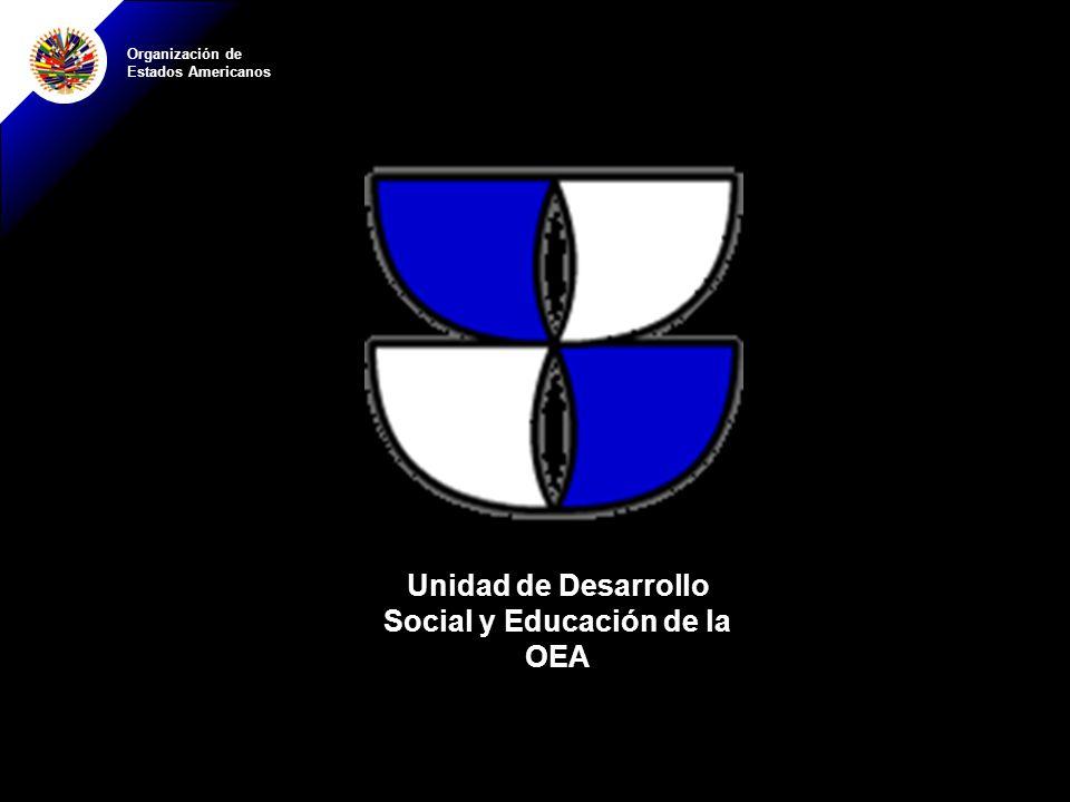 Unidad de Desarrollo Social y Educación de la OEA