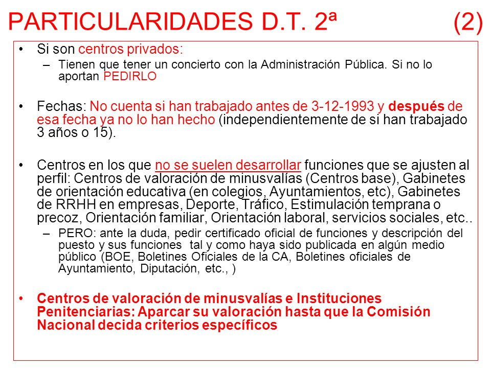 PARTICULARIDADES D.T. 2ª (2)