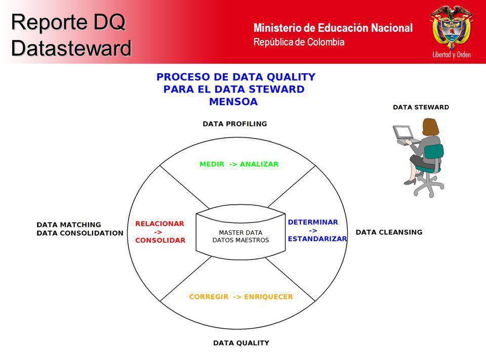 Reporte DQ Datasteward 40 40 40 40