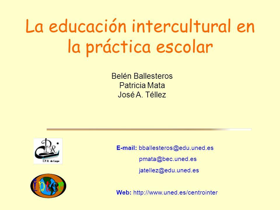La educación intercultural en la práctica escolar