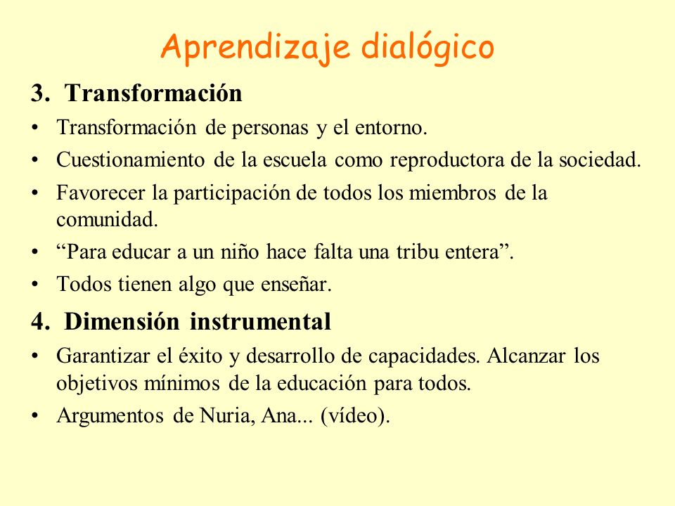 Aprendizaje dialógico