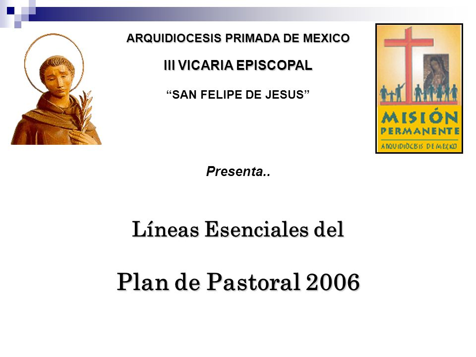 ARQUIDIOCESIS PRIMADA DE MEXICO