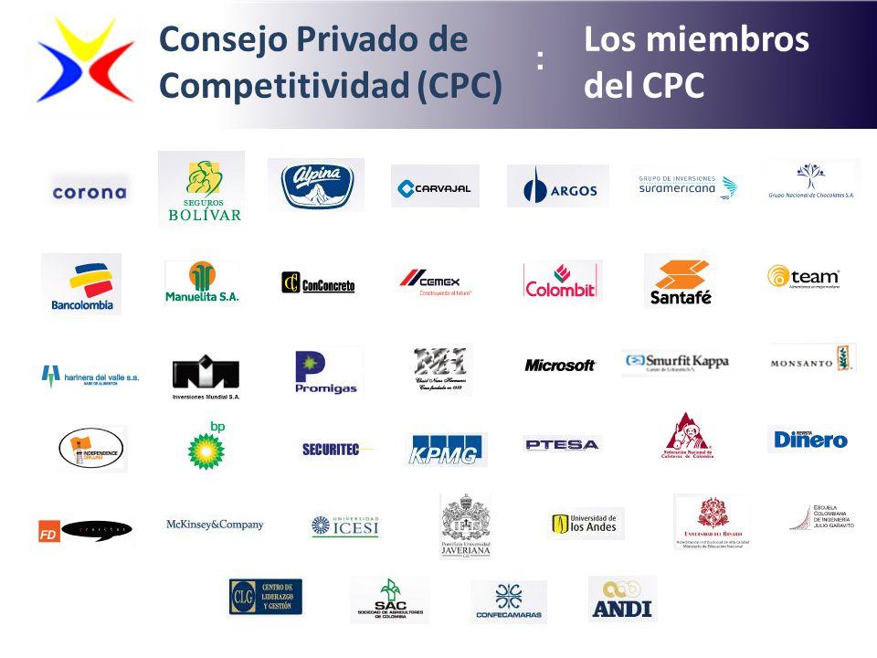 Consejo Privado de Competitividad (CPC) Los miembros del CPC