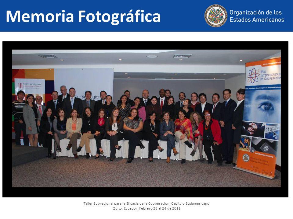 Quito, Ecuador, Febrero 23 al 24 de 2011