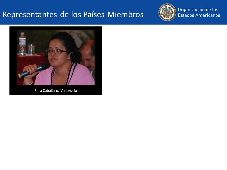Sara Caballero, Venezuela