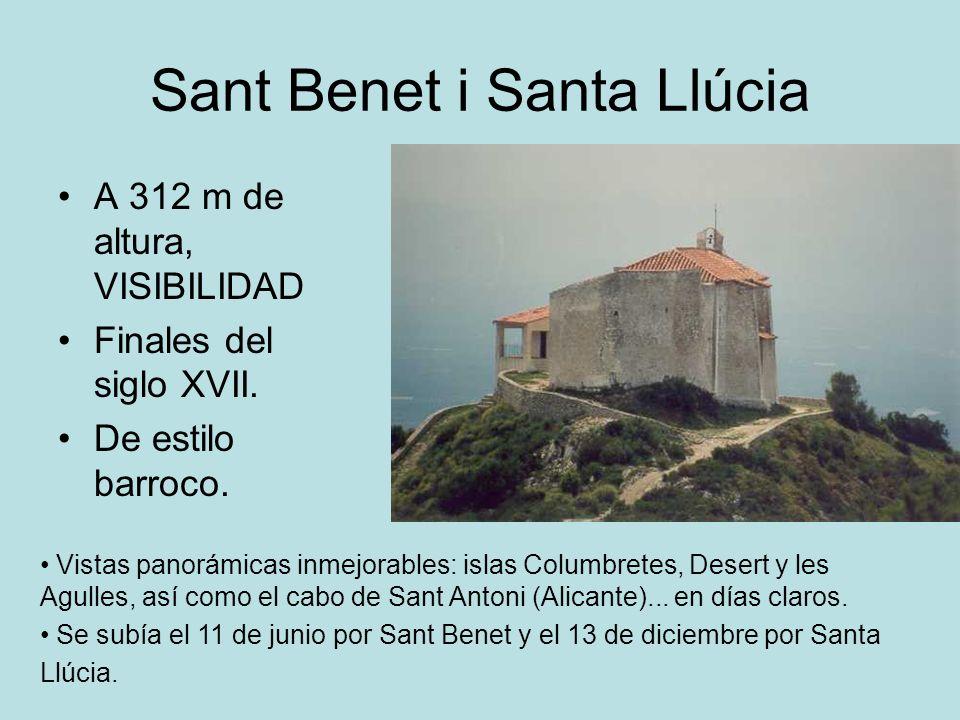 Sant Benet i Santa Llúcia
