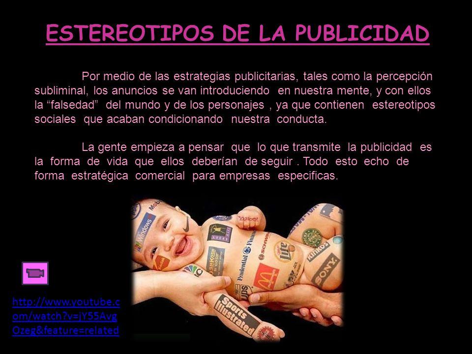 ESTEREOTIPOS DE LA PUBLICIDAD