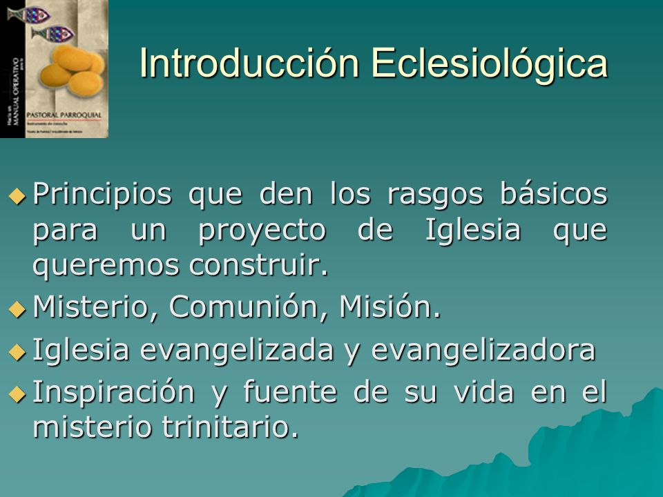 Introducción Eclesiológica