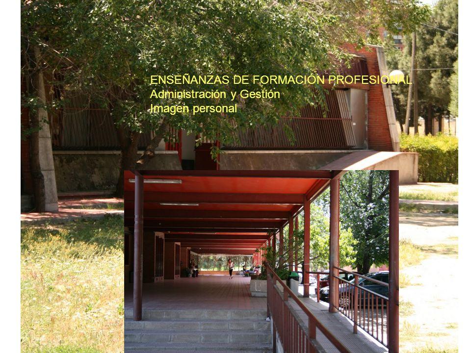 ENSEÑANZAS DE FORMACIÓN PROFESIONAL