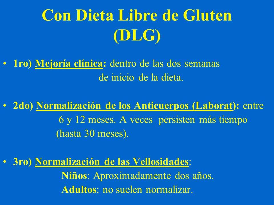 Con Dieta Libre de Gluten (DLG)
