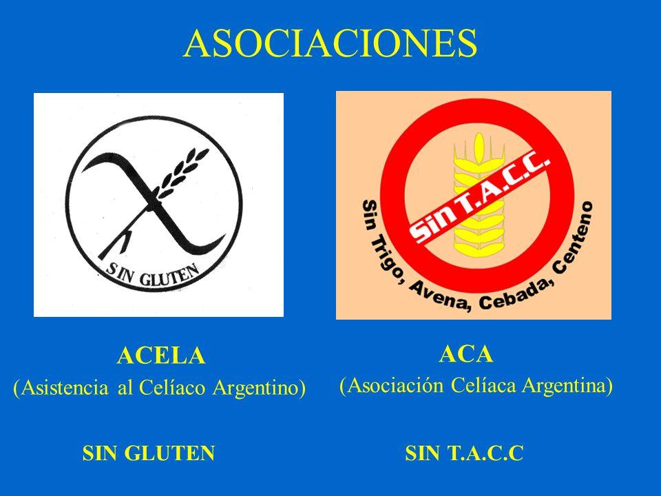 ASOCIACIONES ACELA (Asistencia al Celíaco Argentino)