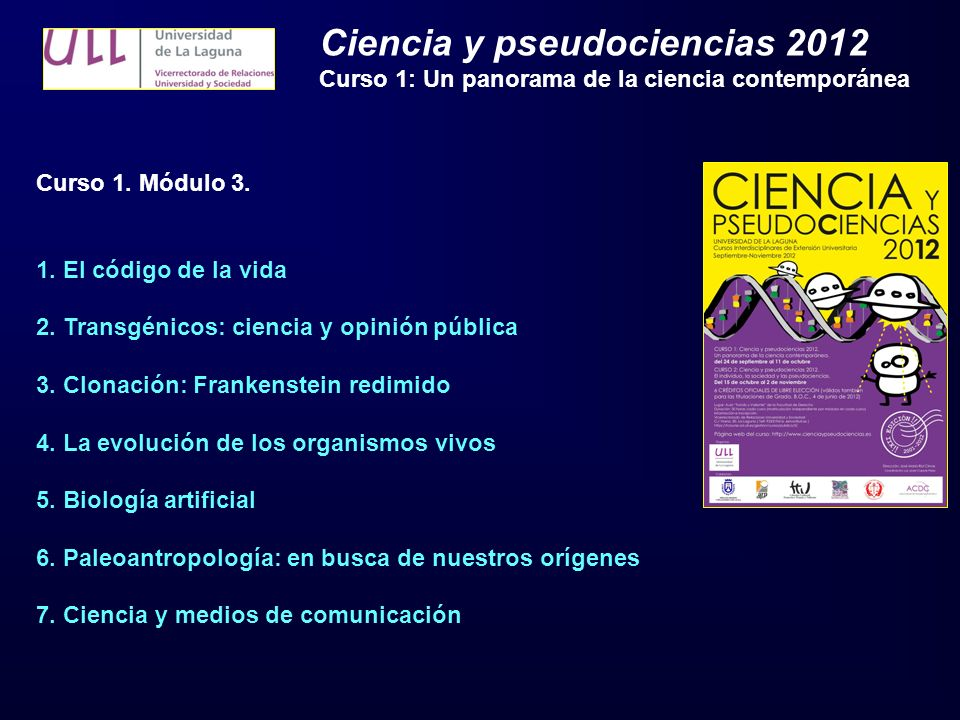 Ciencia y pseudociencias 2012