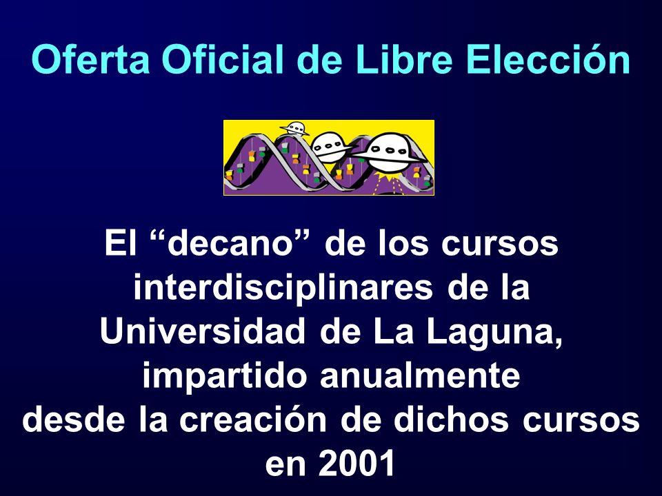 Oferta Oficial de Libre Elección
