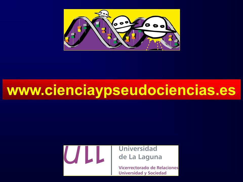 www.cienciaypseudociencias.es SIGUIENTE