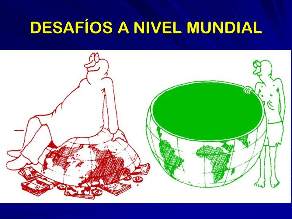 DESAFÍOS A NIVEL MUNDIAL