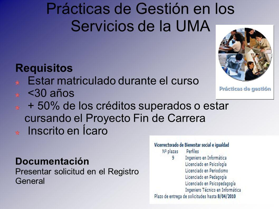 Prácticas de Gestión en los Servicios de la UMA