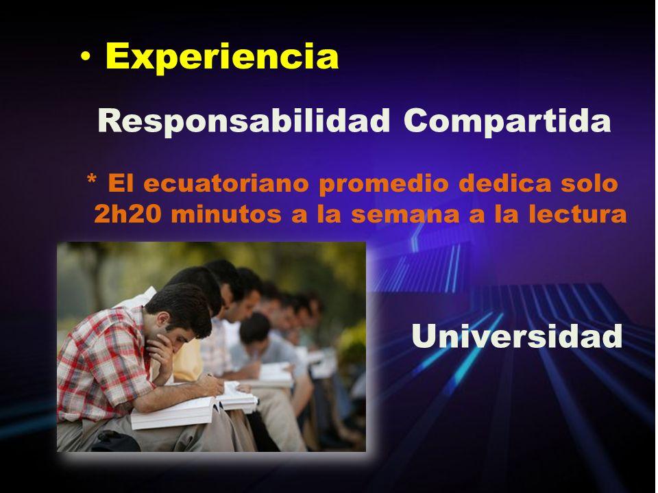 Experiencia Responsabilidad Compartida Universidad