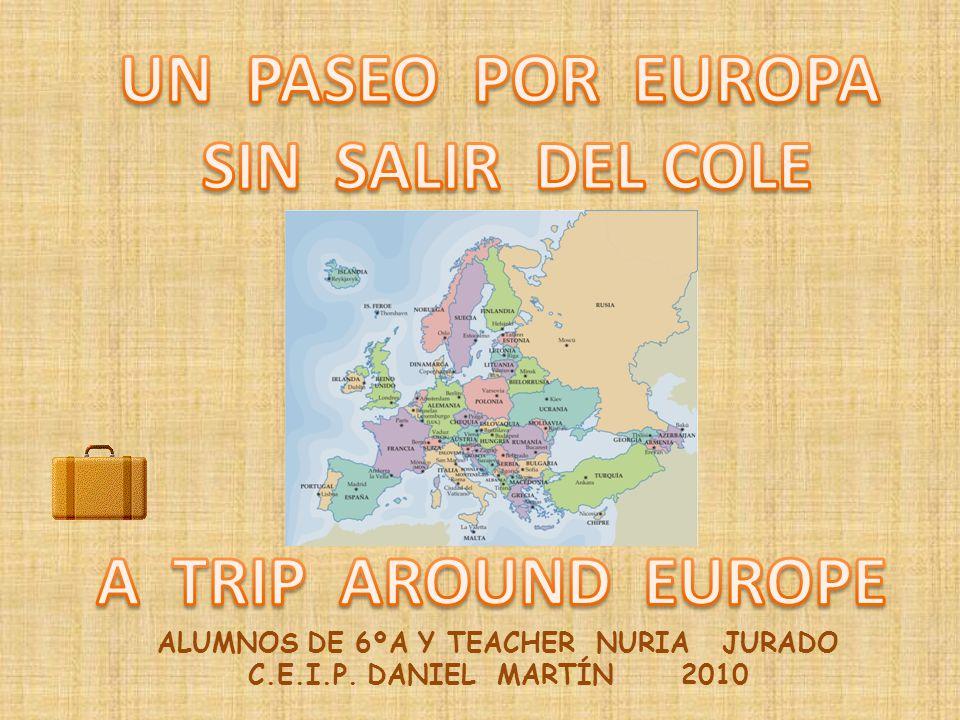 ALUMNOS DE 6ºA Y TEACHER NURIA JURADO