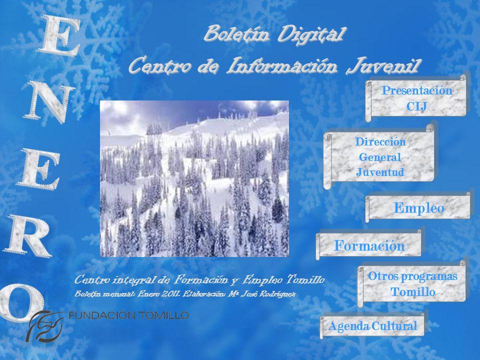 Boletín Digital Centro de Información Juvenil