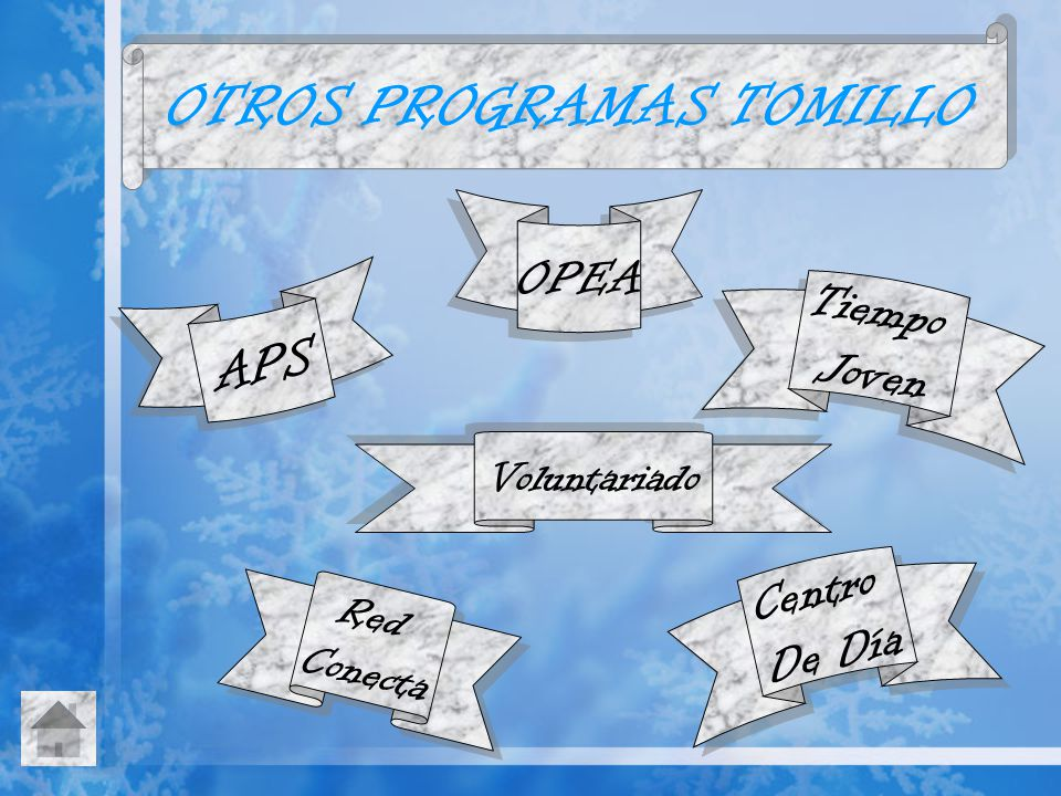 OTROS PROGRAMAS TOMILLO