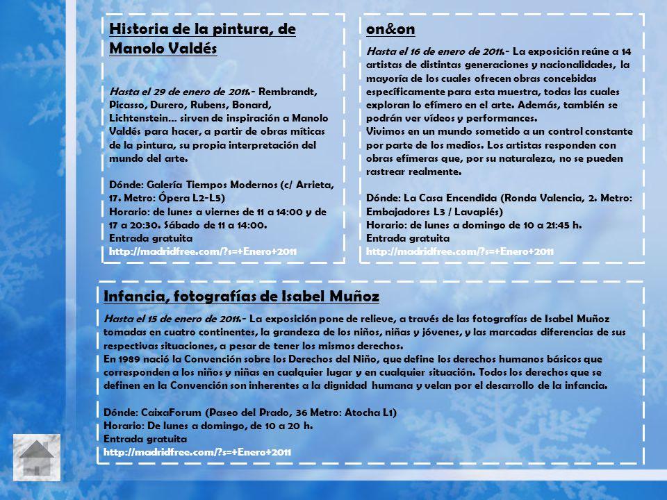 Historia de la pintura, de Manolo Valdés on&on