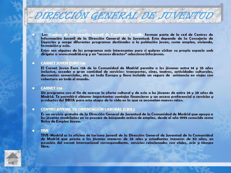 DIRECCIÓN GENERAL DE JUVENTUD