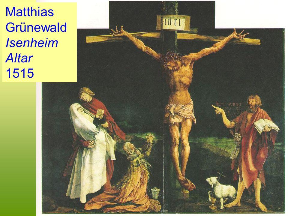 Matthias Grünewald Isenheim Altar 1515