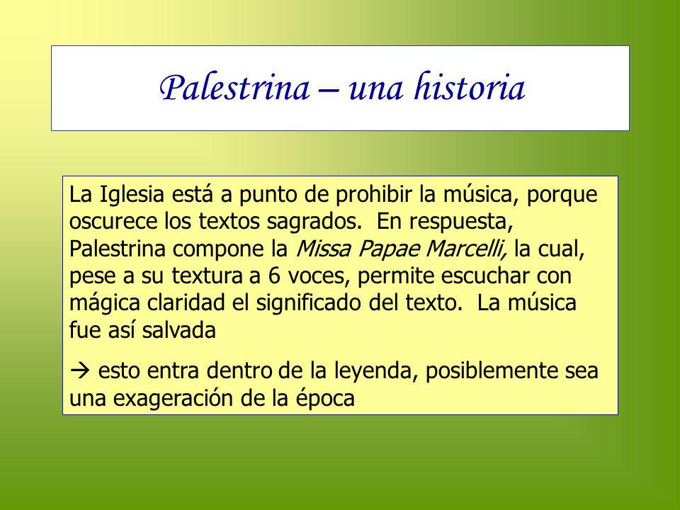 Palestrina – una historia